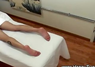 asian masseuse seducing client