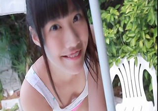 softcore asian legal age teenager tease in panty